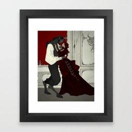 Dancing Lessons Framed Art Print