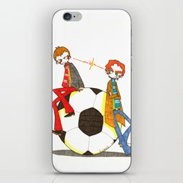 When Worlds Collide iPhone Skin
