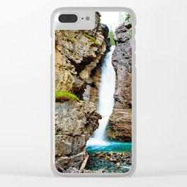 Johnston Canyon Clear iPhone Case