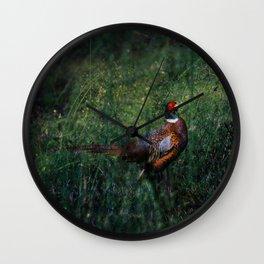 Pheasant Wall Clock