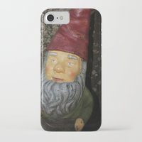gnome iPhone & iPod Cases featuring Gnome by alexarayy