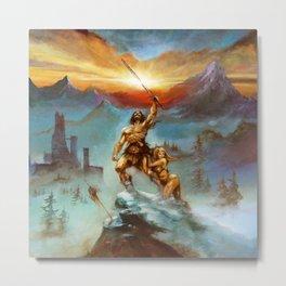 Eternal Champion Metal Print