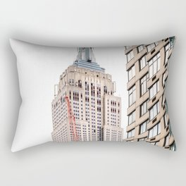 Empire State Building in New York Rectangular Pillow