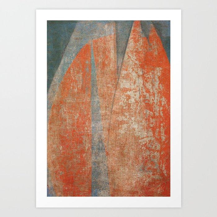 Worn Sails Art Print