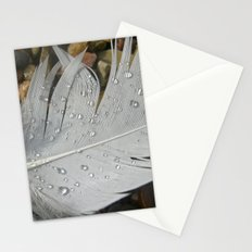 feather macro XIII Stationery Cards
