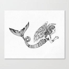 MermAngel Canvas Print
