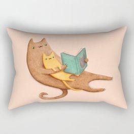 The Cat's Mother Rectangular Pillow