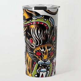 Lion snake Travel Mug