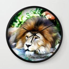 Lion Art One Wall Clock