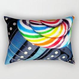 Lollipop Guitar Rectangular Pillow