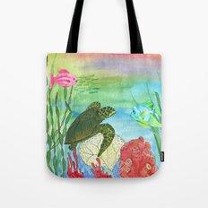 Sea Turtle Shores Tote Bag