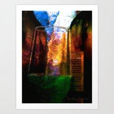 night bar Art Print