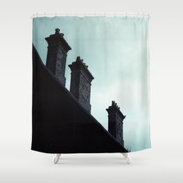 Redfern Chimneys Shower Curtain
