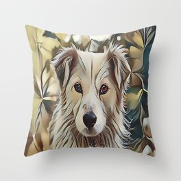 The Catahoula Leopard Dog Throw Pillow