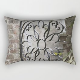 Charleston Back Garden Gate Rectangular Pillow