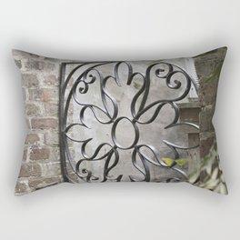 Charleston Back Garden Gate Rectangular Pillow