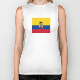 Flag of Ecuador -ecuadorian,Inca,Kichwa,Quito,america, South america,Spanish,Amazonia,latin america Biker Tank