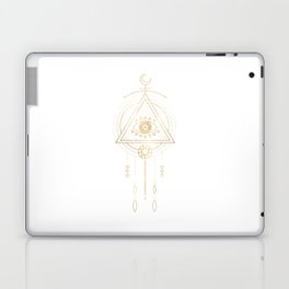 Mandala Golden Eye Geometric Tribal Laptop & iPad Skin