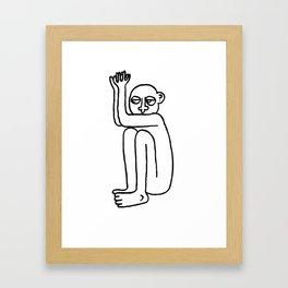 Bad Guy Framed Art Print
