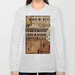 Overlapped Cities Long Sleeve T-shirt