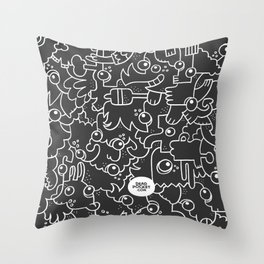 Doodle On, No. 1 Throw Pillow