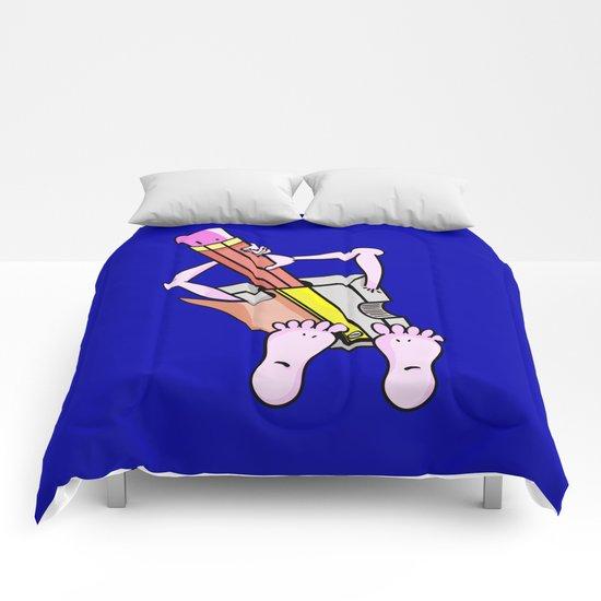 Pencil Sharpener Comforters