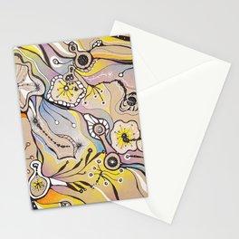 Cellular Dance Stationery Cards