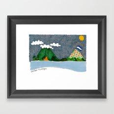 Ometepe, Nicaragua Framed Art Print