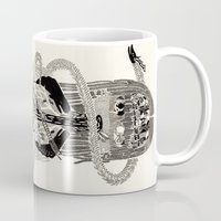 biology Mugs featuring Soul Biology  by Ursula Hart