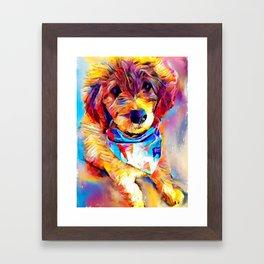 Goldendoodle Framed Art Print