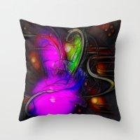 renaissance Throw Pillows featuring Renaissance by Benedikt Amrhein
