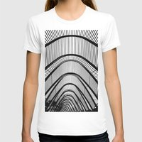 contemporary T-shirts featuring Contemporary Agora by Alfani Photography