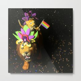 The Pride + The Parade Metal Print