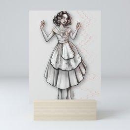 Wanda in the 50s Mini Art Print