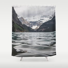 Lake Louise Mountain View Shower Curtain