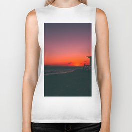 Sunset Beach CA Biker Tank