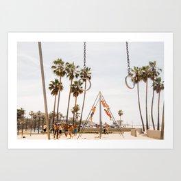 Venice Beach Art Print