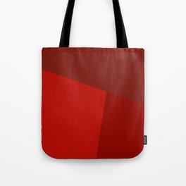 dégradé trapèze rouge Tote Bag