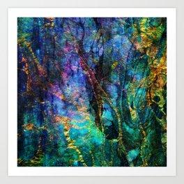 vivid dreams x Art Print