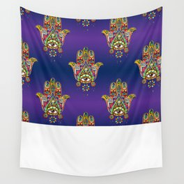 God's Not Dead (Hamsa Hand) Wall Tapestry