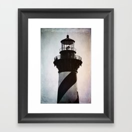 Cape Hatteras Lighthouse Framed Art Print
