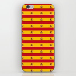 Flag of spain 2-spain,flag,flag of spain,espana, spanish,plus ultra,espanol,Castellano,Madrid,prado iPhone Skin