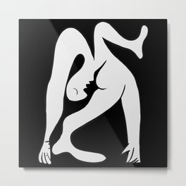 Picasso - Black and White #1 Metal Print