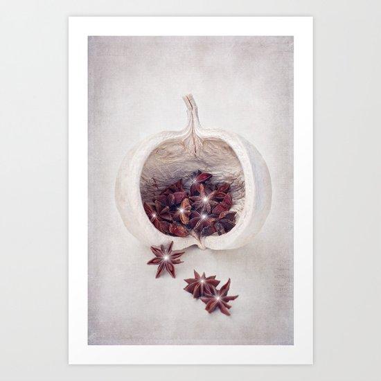 WINTER SECRETS Art Print