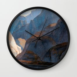 Francis Towne On the Lake of Como Wall Clock