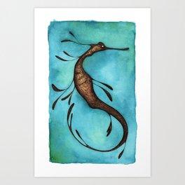 weedy SeaDragon Art Print