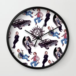 The Hunters Wall Clock