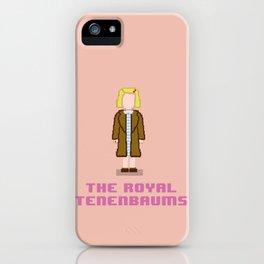 Margot Tenenbaum 8 bits iPhone Case