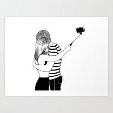 Do I love you or Do I just love me in love Art Print