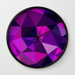 Pink Movement Wall Clock